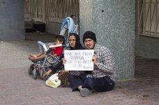 Uchodźcy w Austrii nie strajkowali w celu uzyskania wysokiego zasiłku.