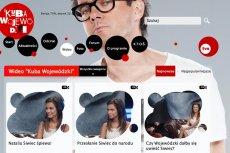 Strona internetowa show Kuby Wojewódzkiego
