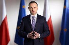 Prezydent Andrzej Duda w orędziu podkreśli, że pomysł referendum w sprawie konstytucji jest jego decyzją.