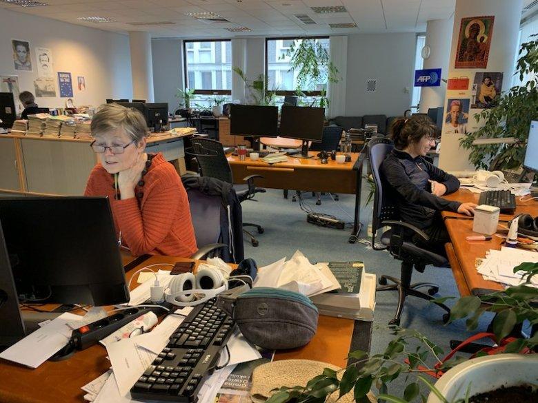 AFP Sprawdzam to Maja Czarnecka (po lewej) i Natalia Sawka (w głębi).