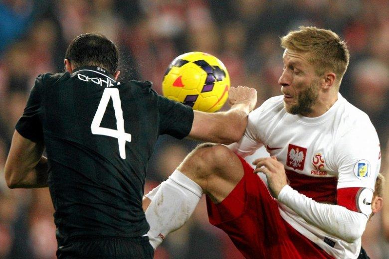 Polska zremisowała z Irlandią 0:0 (na zdjęciu Jakub Błaszczykowski walczy o piłkę