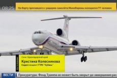 Samolot rosyjskiego resortu obrony spadł do Morza Czarnego.