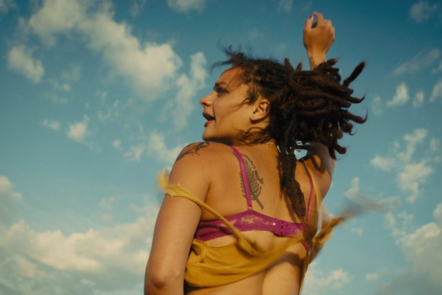 "Sasha Lane - Star z ""American Honey""."