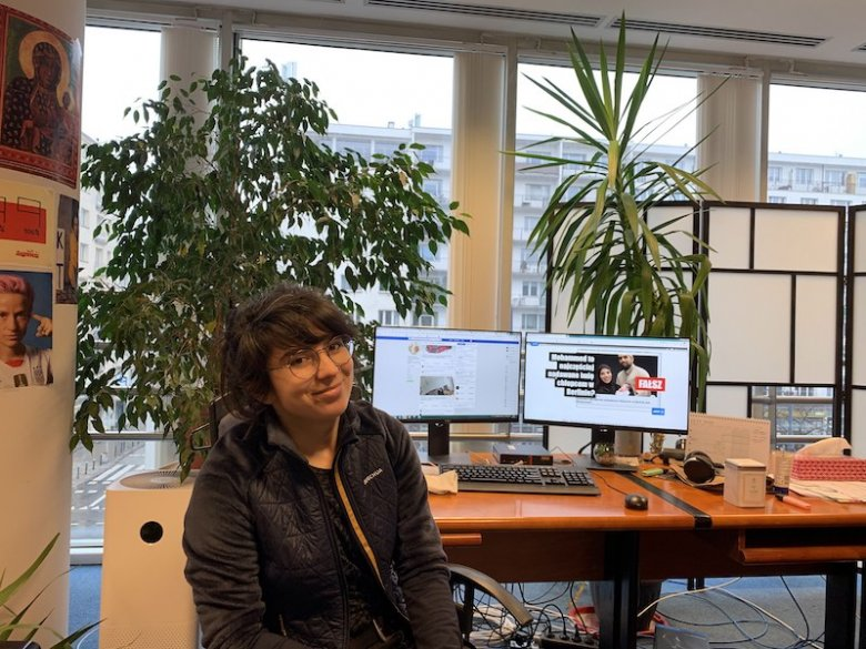 Natalia Sawka, fact-checkerka z AFP Sprawdzam.