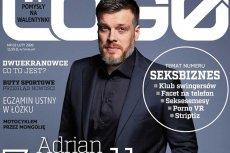 """Z okładki magazynu """"Logo"""" z Adrianem Zandbergiem kpi już cały internet."""