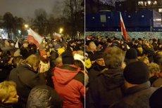24 grudnia na wieczerzę przed sejmem, stawiło się ok 500 osób