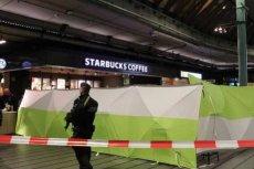 Policja postrzeliła i aresztowała nożownika na lotnisku w Amsterdamie.