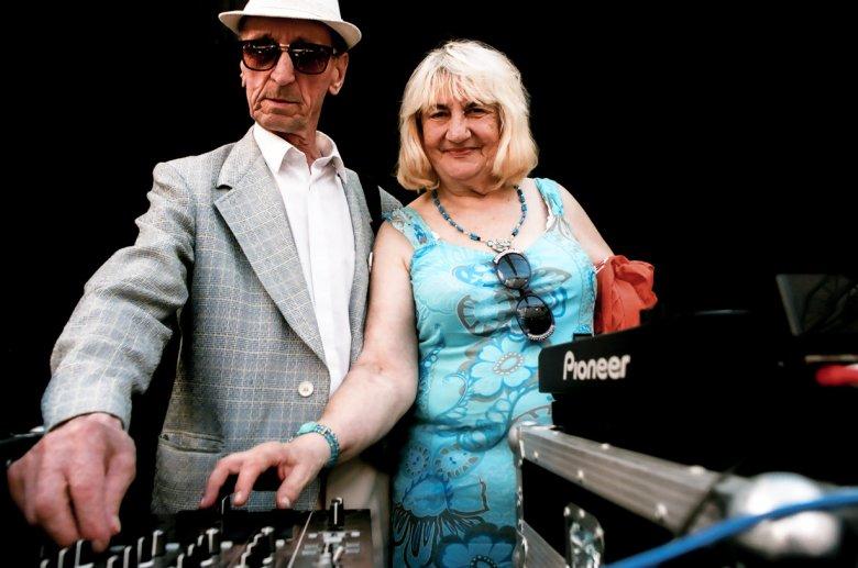 Ela i Kazik, seniorzy z Dancingu Międzypokoleniowego.