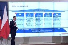 Daszek i filarki to znak firmowy licznych prezentacji autorstwa firmy doradczej PwC.