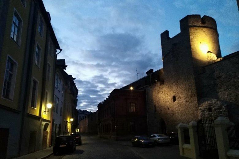Starówka nocą