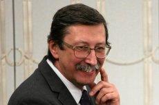"""Senator PiS Jan Żaryn mówił o wydarzeniach w Pruchniku. Zaapelował, by """"nie wtrącać się w nasze sprawy""""."""