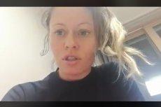 Biathlonistka broni swojej reakcji w filmiku opublikowanym na Facebooku.