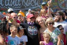 Jerzy Owsiak ma powody do zadowolenia. Pol'and'Rock Festival okazał się dużym sukcesem.