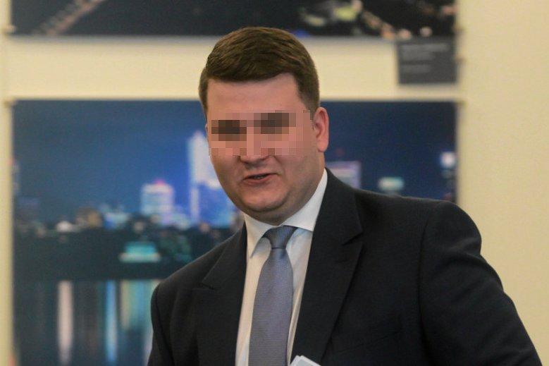 Bartłomiej M. zatrzymany przez CBA.