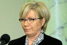 """Julia Przyłębska stałą się bohaterką materiału """"Czarno na białym"""", w którym ujawniono kulisy jej pracy w Trybunale Konstytucyjnym."""