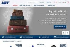 PLL LOT wystawiają nieodebrany bagaż na aukcje