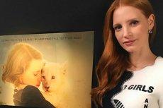 Jessica Chastain wspiera Polki w walce o ich prawa.