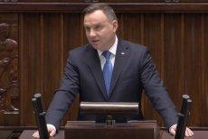 Andrzej Duda wygłosił orędzie na inauguracji Sejmu IX kadencji.