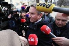Biznesmen Gerald Birgfellner był przesłuchiwany w wiedeńskiej prokuraturze. Austriak domaga się od Jarosława Kaczyńskiego 40 mln zł.