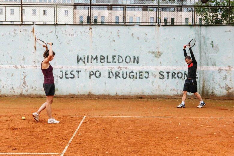 Nadwiślański Wimbledon w obrazie Łukasza Grzegorzka