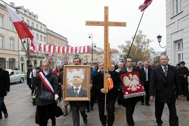 Miał być milion, będzie 50 tys. – tyle osób zadeklarowało udział w prorządowym marszu 10 kwietnia