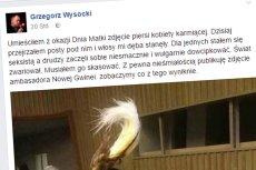 Wiceburmistrz warszawskiej Ochoty Grzegorz Wysocki tłumaczy się ze skandalu, który rozpętał publikując seksistowskie zdjęcie zrobione ukradkiem pasażerce metra.