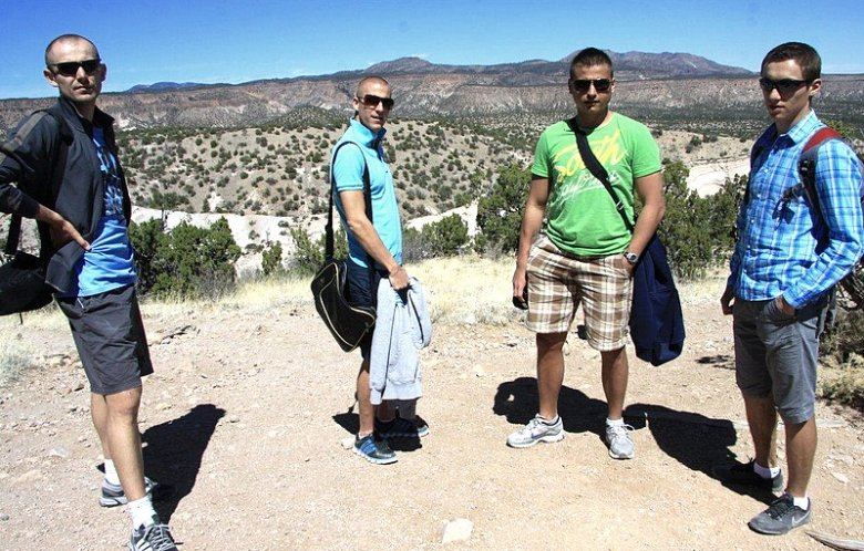 Podczas pobytu w USA odwiedziliśmy słynne Skalne Namioty, które powstawały 7 mln lat