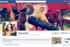 Fanpage akcji Dinovember