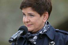 Beata Szydło stara się tonować w mediach spekulacje dotyczące jej ewentualnej dymisji.