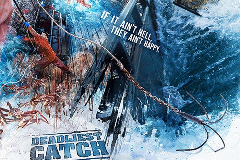 """Tak prezentowała się reklama dla """"Deadliest Catch"""""""