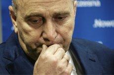 Grzegorz Schetyna ma ból głowy. Wyniki sondażowe jego partii u progu wyborów samorządowych nie przedstawiają się optymistycznie.