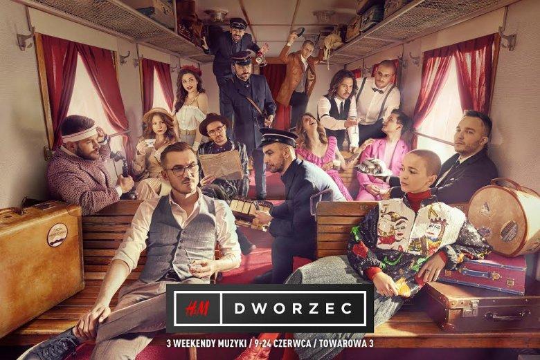 W Warszawie rusza festiwal H&M Dworzec. Wystąpią na nim: Brodka, Pezet, Ten Typ Mes, Fisz, Emade Tworzywo, Taco Hemingway, XXANAXX, Flirtini, Quebonafide, Julia Wieniawa, Duit, Eldo i The Dumplings.