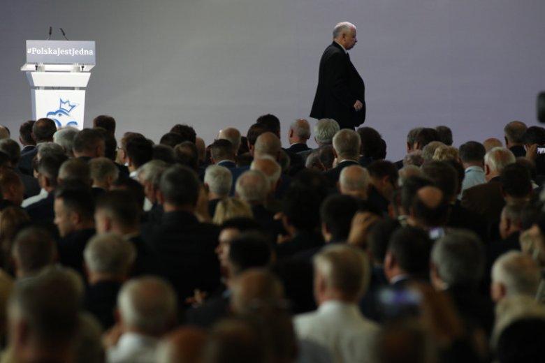 Jarosław Kaczyński na pewno był zadowolony z uwagi, jaką poświęciła kongresowi TVP.