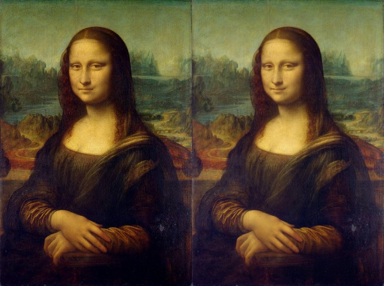 Mona Lisy z różnych wymiarów.