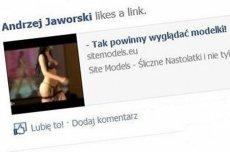 """Poseł Andrzej Jaworski """"lubi"""" nastoletnie modelki"""