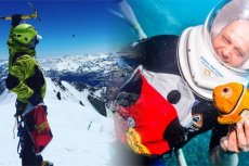 Słynna torba była nawet na szczycie Mont Blanc oraz pod wodą.