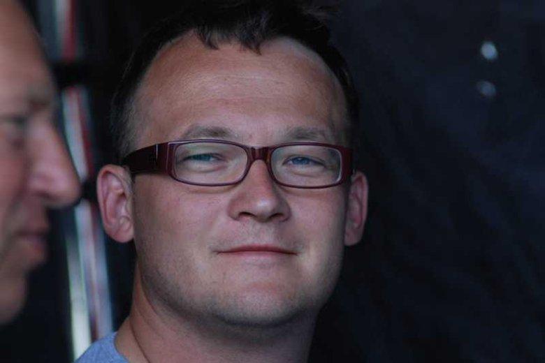 """Bartek Prokopowicz operator filmowy (m.in. """"Dług"""", """"Przedwiośnie"""", """"Kochaj i tańcz""""), wdowiec po Magdzie Prokopowicz"""