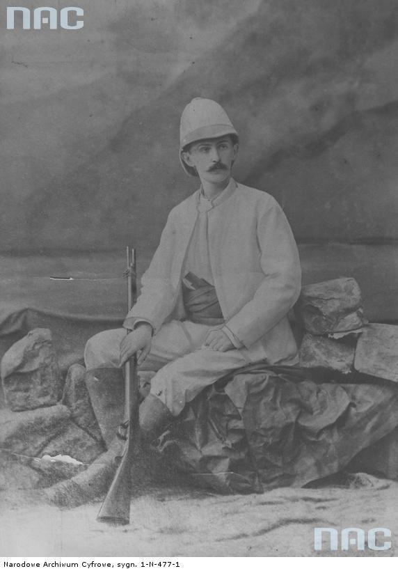 Stefan Szolc-Rogoziński - badacz Afryki.