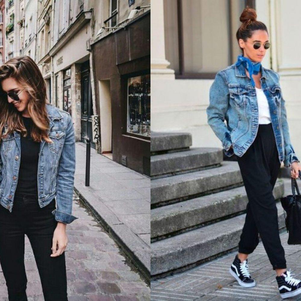 3bc51f27 Jak nosić kurtkę jeansową? Kurtka jeansowa w różnych stylizacjach ...