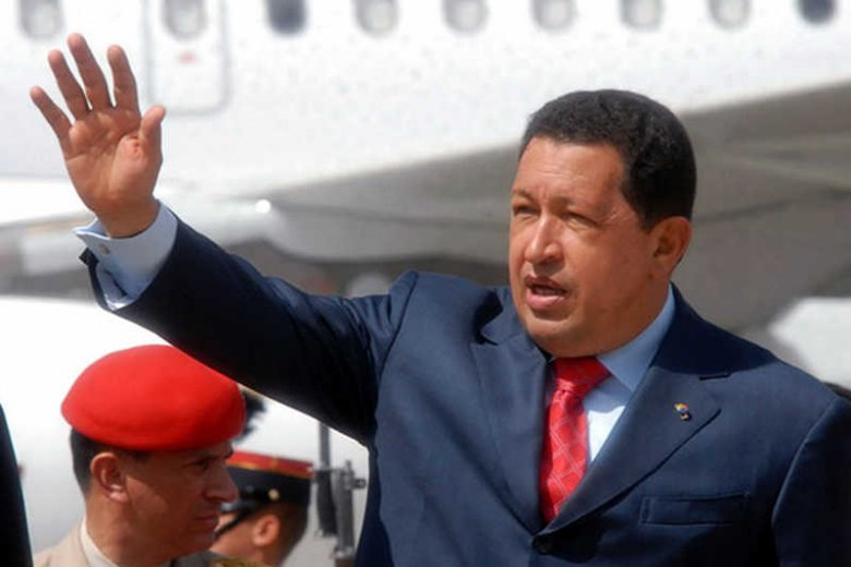 Prezydent Wenezueli Hugo Chavez