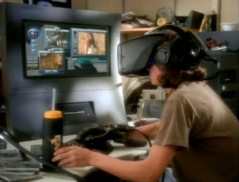 """Technologia VR """"istniała"""" już w poprzednim wieku. To kadr z teledysku Aerosmith do piosenki """"Amazing"""" z 1993 roku."""