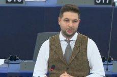 Europoseł Patryk jaki przekonywał w PE, że Polska jest tolerancyjnym krajem.