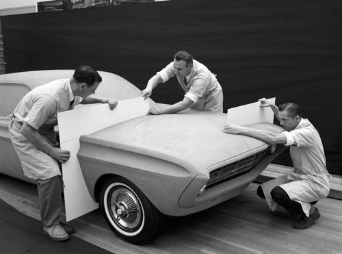 Jeden z projektów Forda Mustanga