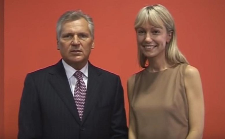 Aleksander Kwaśniewski wspierał Magdalenę Ogórek, gdy startowała z list SLD w Rybniku.
