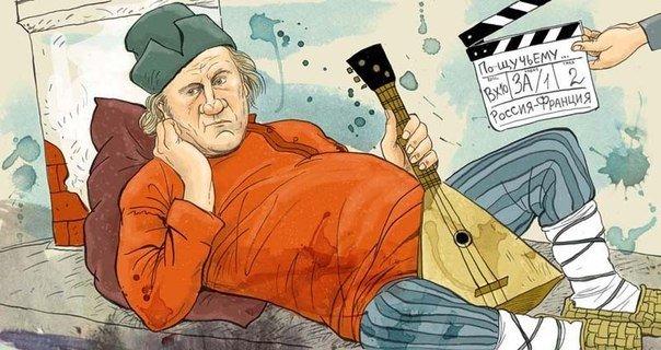 Kto zyska więcej - Depardieu czy rosyjski kinematograf?