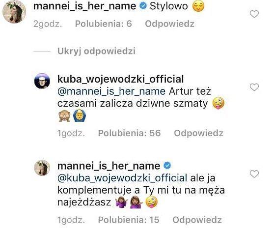 Riposta Kuby Wojewódzkiego.