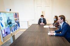 Kanclerz Austrii Sebastian Kurz zainicjował spotkania wideo ośmiu przywódców państw, które najlepiej poradziły sobie z koronawirusem.