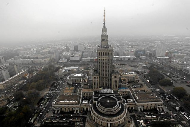 Pałac Kultury i Nauki jest zabytkiem ośmiu lat.