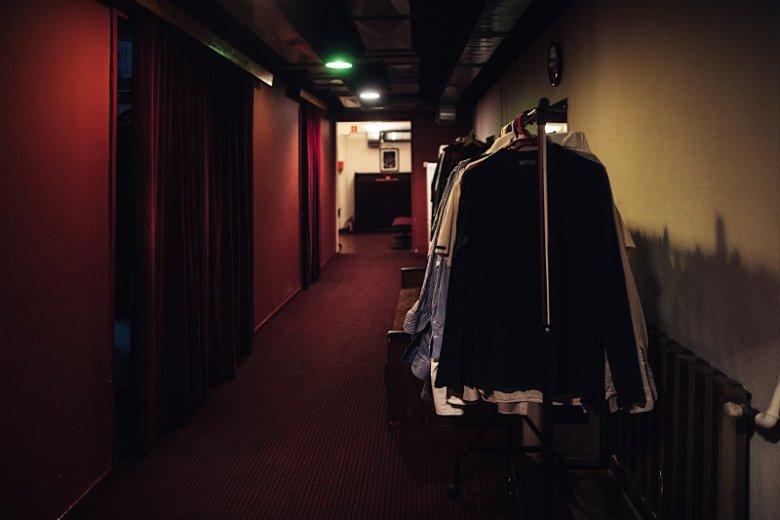 Teatr skrywa mnóstwo zakamarków niedostępnych dla zwykłego widza