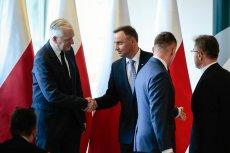 """""""Wiem, jaki był sens dowcipu"""". Jarosław Gowin staje w obronie Andrzeja Dudy i prezydenckiego żartu, jaki padł na AGH."""